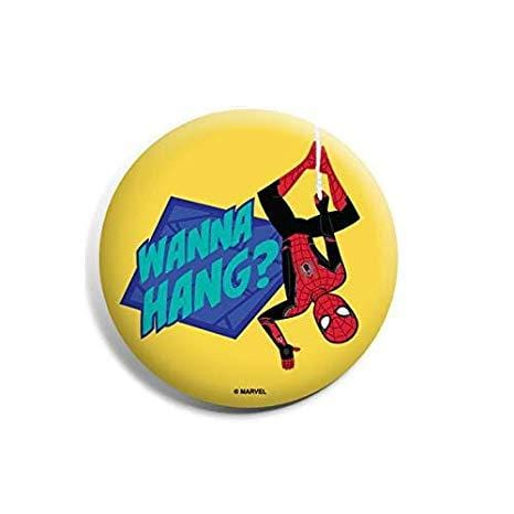 Marvel™ Badges Spiderman Badge : Wanna Hang?