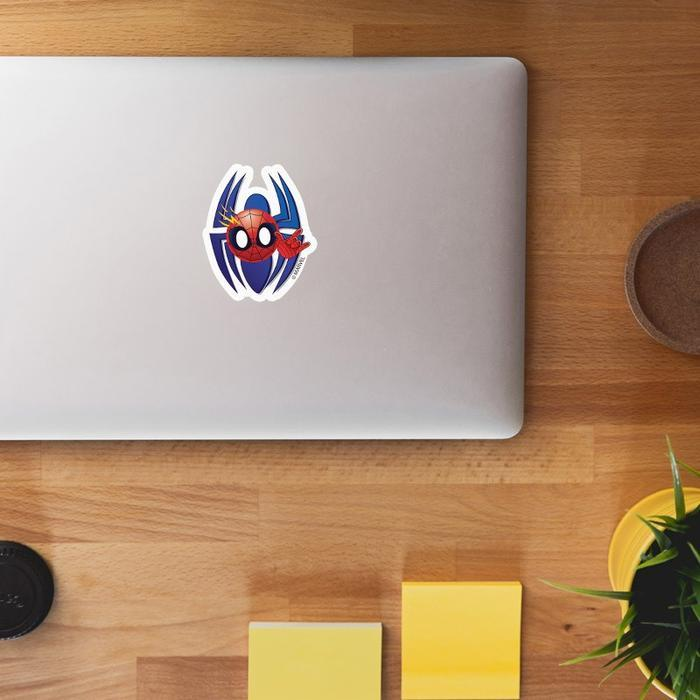 Avengers Spiderman Logo Sticker - Marvel™ - GalaxT