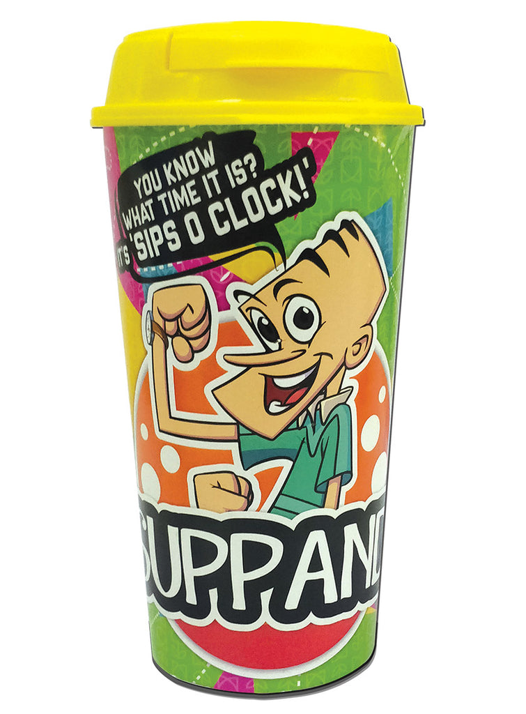Suppandi Sips O Clock Plastic Sipper - Tinkle - GalaxT