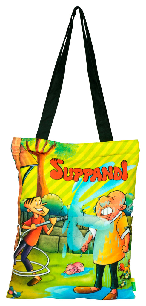 Suppandi Splashing Tote Bag