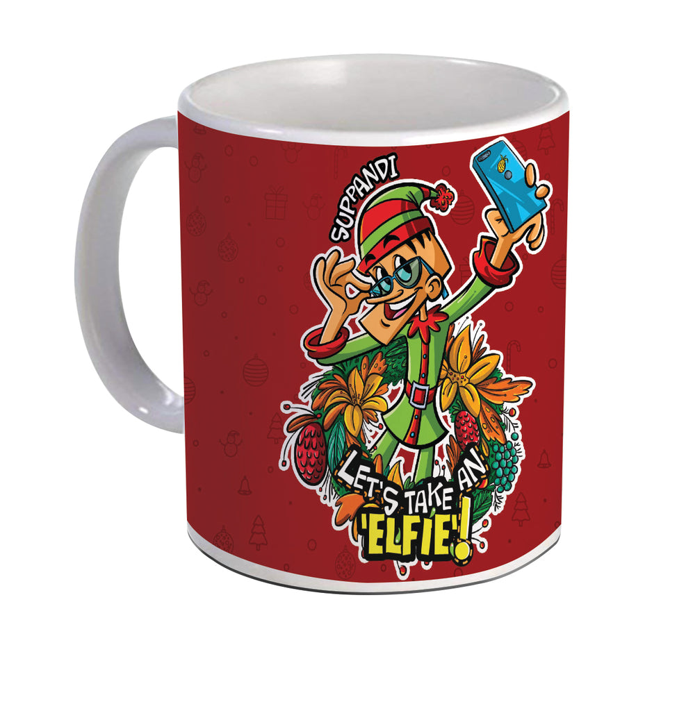 Suppandi Christmas Mug - Tinkle - GalaxT