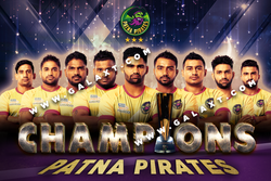 Patna Pirates Team Poster