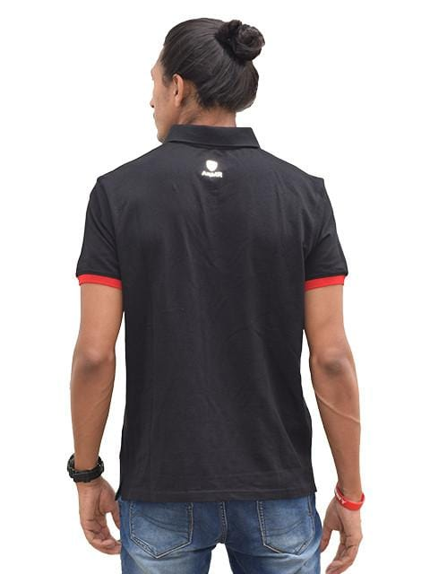 Embroidered Logo Player Polo T-Shirt  - Bengaluru Bulls - GalaxT
