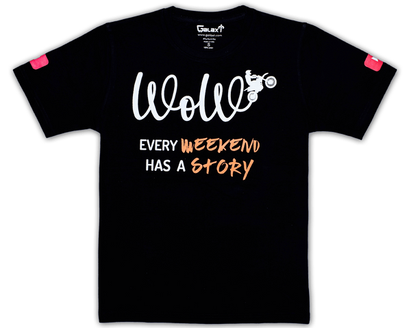 Weekend Story | Weekend On Wheels T-Shirt | GalaxT