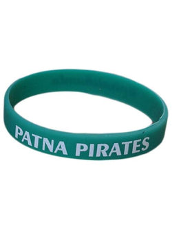 Silicon Rubber Wrist Band Patna Pirates GalaxT Accessories Green Unisex