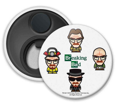 Breaking Bad : Characters - Fridge Magnets - Breaking Bad - GalaxT