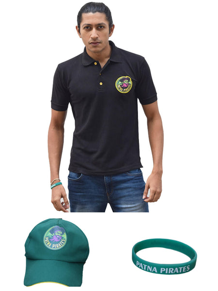 Combo Offers - T-Shirt - Patna Pirates - GalaxT