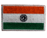 Indian Flag : Embroidery Patch Velcro - Embroidered Patches - GalaxT - GalaxT