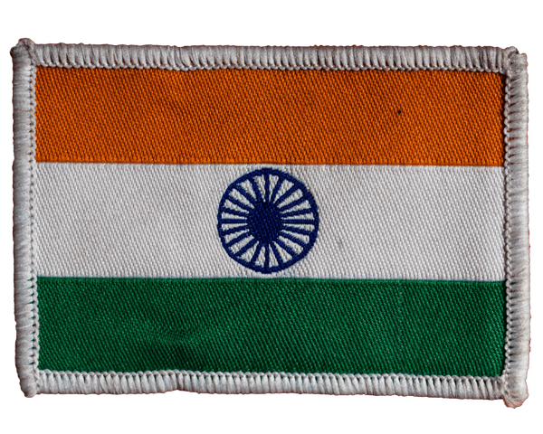Indian Flag : Embroidery Patch - Embroidered Patches - GalaxT - GalaxT