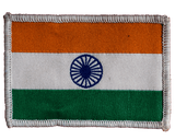 GalaxT Embroidered Patches Indian Flag Patch : Embroidery