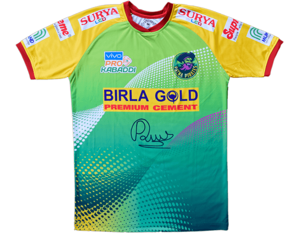 Pardeep Signed Jersey : Sign, Name & Number - Jerseys - Patna Pirates - GalaxT