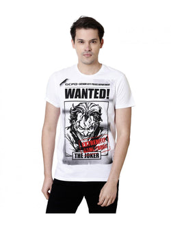 DC Comics™ T-Shirts Joker T-Shirt : Wanted