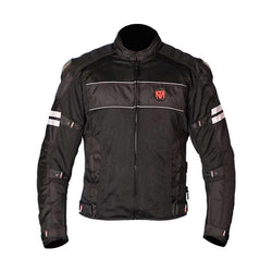 Moto Torque Riding Jackets S / Black Riding Jacket : Moto Torque Resistor Level 1