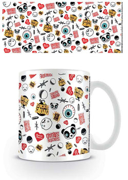 Suicide Squad : Characters Pattern - Mugs - DC Comics™ - GalaxT