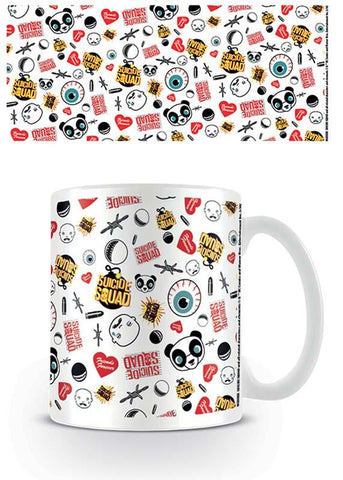 Suicide Squad Pattern Coffee Mug - Mug - DC Comics - GalaxT