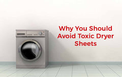 Black Laundry Room Dryer Sheet Decorative Cover