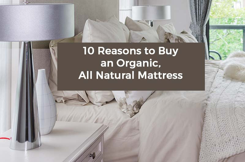 Ten Reasons to Buy an Organic/All Natural Mattress