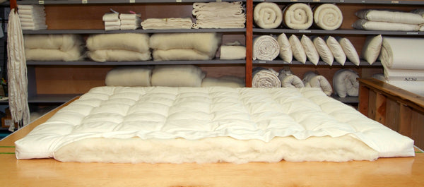 Ultimate Wool Topper - All Natural with Organic Cotton