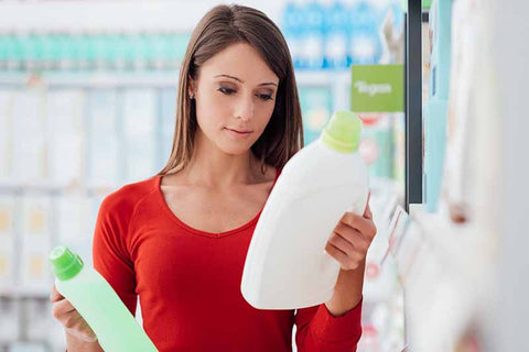 Read Cleaning & Laundry Product Labels for Safer Products
