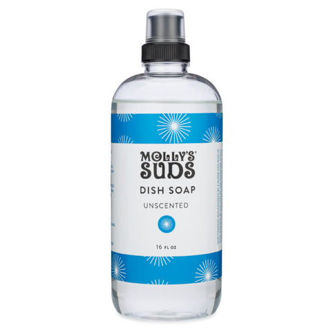 Natural Dish Soap Unscented by Molly's Suds