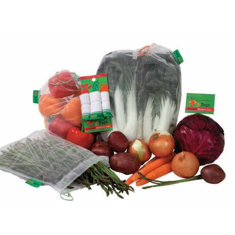 Produce Bags - Set of 3 - PureLivingSpace.com