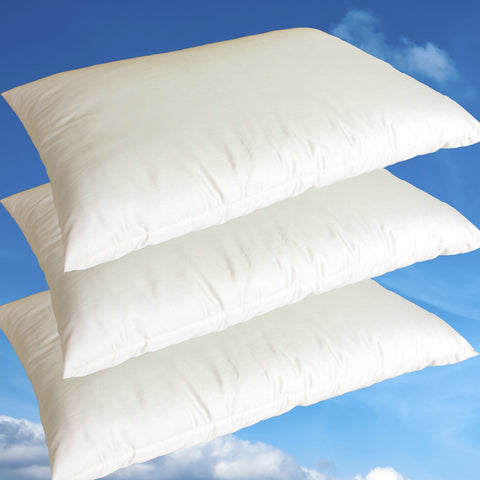 Childs Junior Pillow - 100% Natural Kapok & Organic Cotton Pillow - PureLivingSpace.com