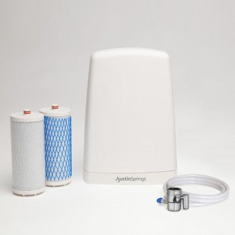 Austin Springs Countertop Water Filter System - PureLivingSpace.com