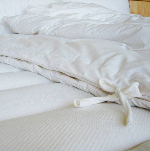 All Season Convertible Comforter - 100% Eco-Wool covered in Organic Cotton