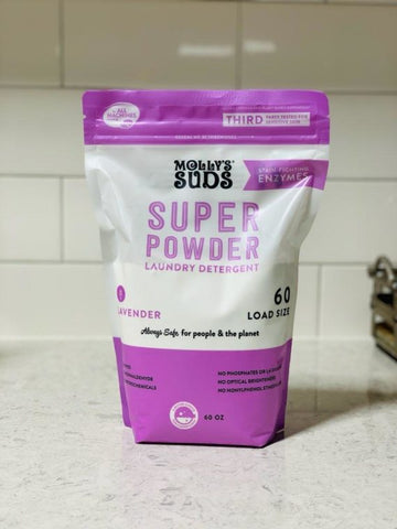 Super Powder All Natural Laundry Detergent - Molly's Suds - PureLivingSpace.com
