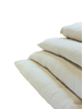100% Organic Cotton Mattress Topper - Double Thick - PureLivingSpace.com