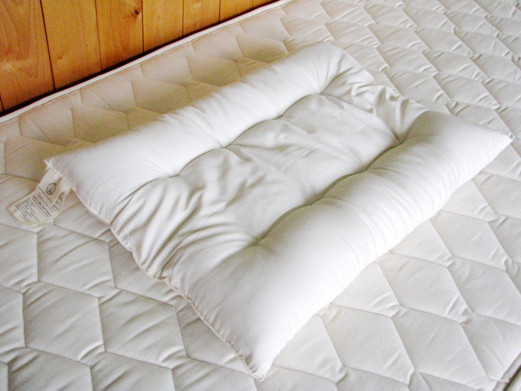 Orthopedic Pillow - 100% Eco-Wool with Organic Cotton Cover - PureLivingSpace.com