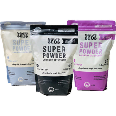 Super Powder All Natural Laundry Detergent - Molly's Suds