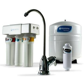 Aquasana Under Counter Reverse Osmosis Water Filter - AQ-RO3 - PureLivingSpace.com