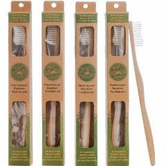 Bamboo Tooth Brush - Set of 4 - PureLivingSpace.com