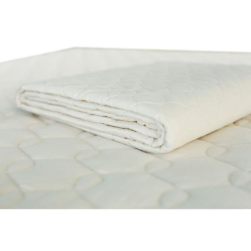 organic cotton mattress pad by organique purelivingspacecom - Organic Cotton Mattress