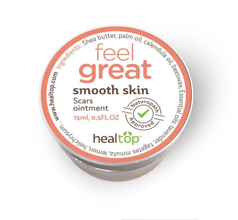 smooth skin - scars ointment - PureLivingSpace.com
