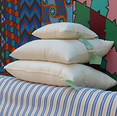 100% Natural Shredded Latex & Organic Cotton Pillow - PureLivingSpace.com