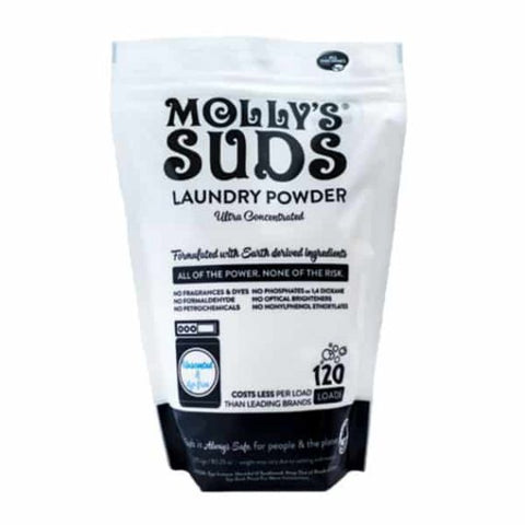 All Natural Unscented Laundry Powder 120 Loads - Molly's Suds - PureLivingSpace.com
