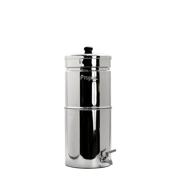 Propur Water Filter Container - Model Nomad 2.0 Gallons - PureLivingSpace.com