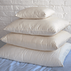 100% Eco-Wool Pillow with Organic Cotton Cover - PureLivingSpace.com