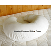 Organic Cotton and 100% Eco-Wool Nursing Pillow - PureLivingSpace.com