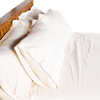 100% Organic Cotton Sateen Duvet Cover - Various Colors - PureLivingSpace.com