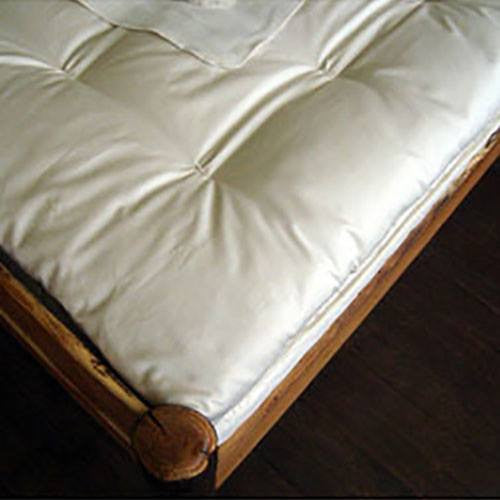 Ultimate Quilted Mattress Topper 100% Eco-Wool covered in Organic Cotton - PureLivingSpace.com