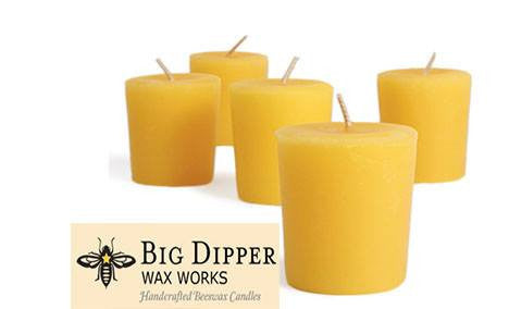 Beeswax Votive Candle - Set of 5 - PureLivingSpace.com