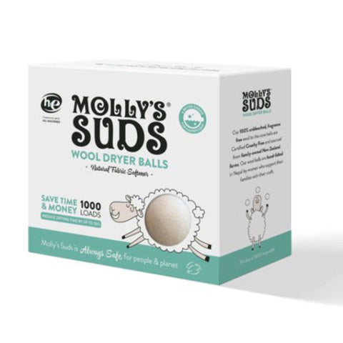 Wool Dryer Balls 3-Pack - Molly's Suds