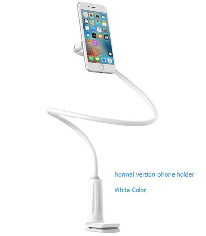 Rock Universal Magnetic Phone Holder Long Arm Lazy Bed Desktop 360 Degree Flexible Arm Tablet Holder for iPad/Mi Pad