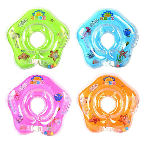 Cute Baby Safety Swimming Neck Ring