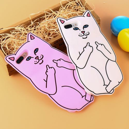 FREE: Cute Cat Case For iPhone 6, 6s Plus, 5s & SE