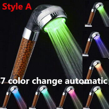 High Pressure Color Changing Shower Head
