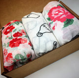 Muslin Swaddle 3 Pack